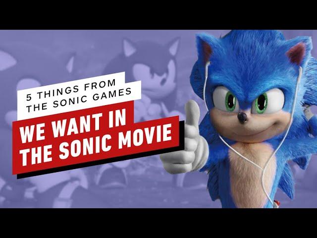 5 coisas dos jogos do Sonic que queremos no filme Sonic the Hedgehog + vídeo