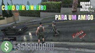 GTA V Online - Como dar dinheiro para seu amigo iniciante (PS3,PS4,XBOX360,XBOXONE,PC)