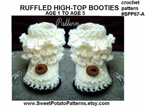 New Crochet Patterns In Sweetpotatopatterns Shop Youtube
