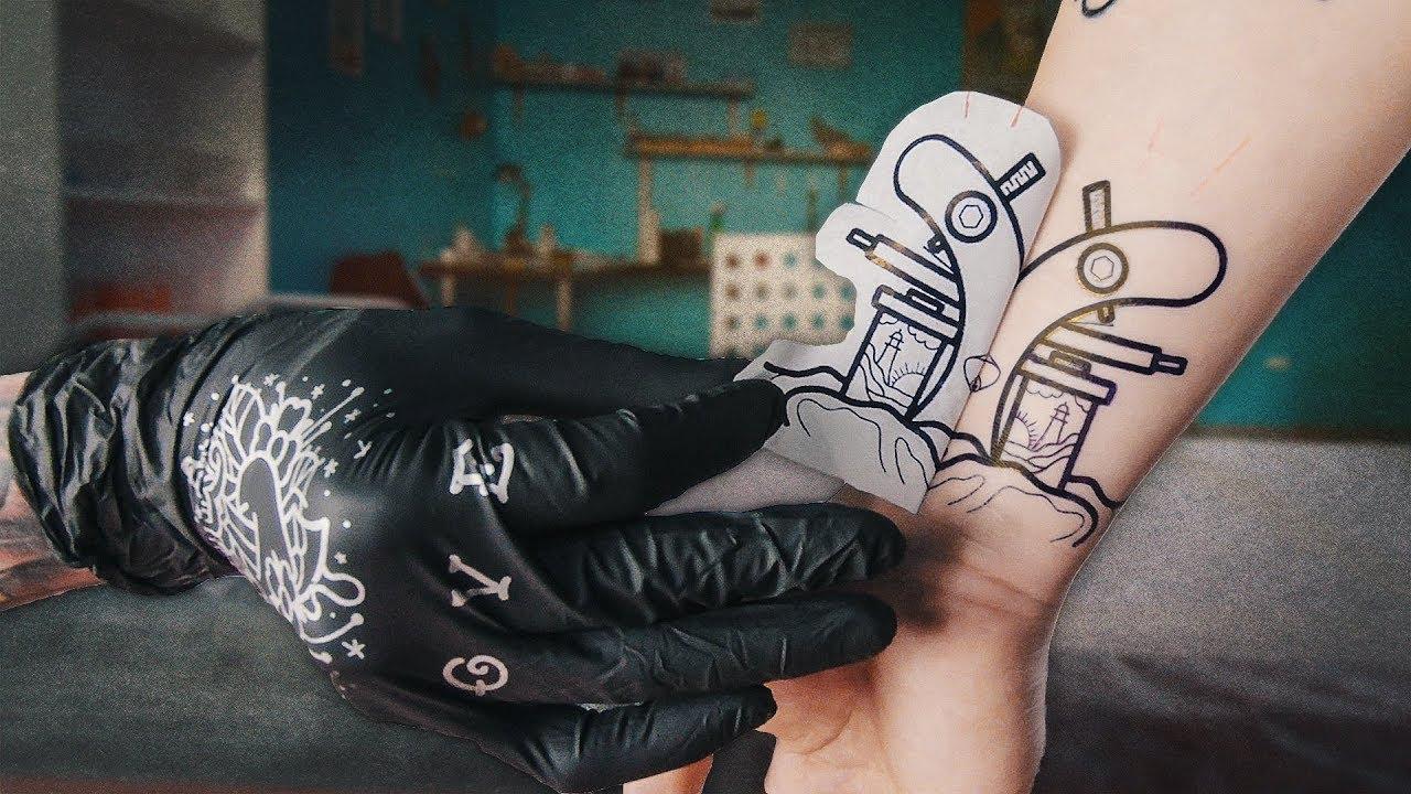 весь в тату ч3 татуировка машинка для тату