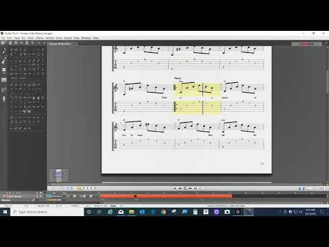 House of the Rising Sun Video Guitar Tab