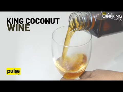 Sri Lankan Thambili Wine (King Coconut Wine)