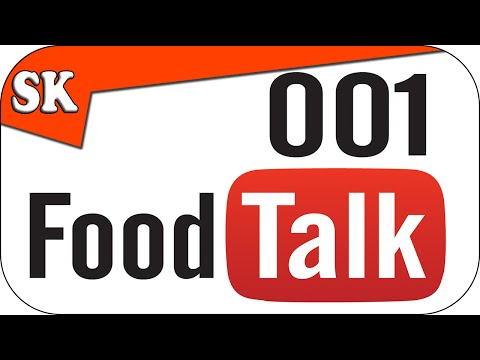 FOODTalk 001 - Live Chat From Steve's Kitchen