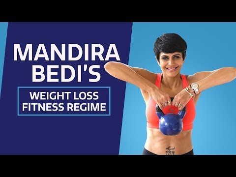 Mandira Bedi lost 22 Kgs | Exercise routine | Lifestyle | Fitness regime |  Weight loss | Pinkvilla