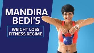 Mandira Bedi lost 22 Kgs   Exercise routine   Lifestyle   Fitness regime    Weight loss   Pinkvilla