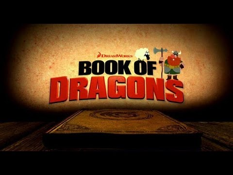 dreamworks book of dragons