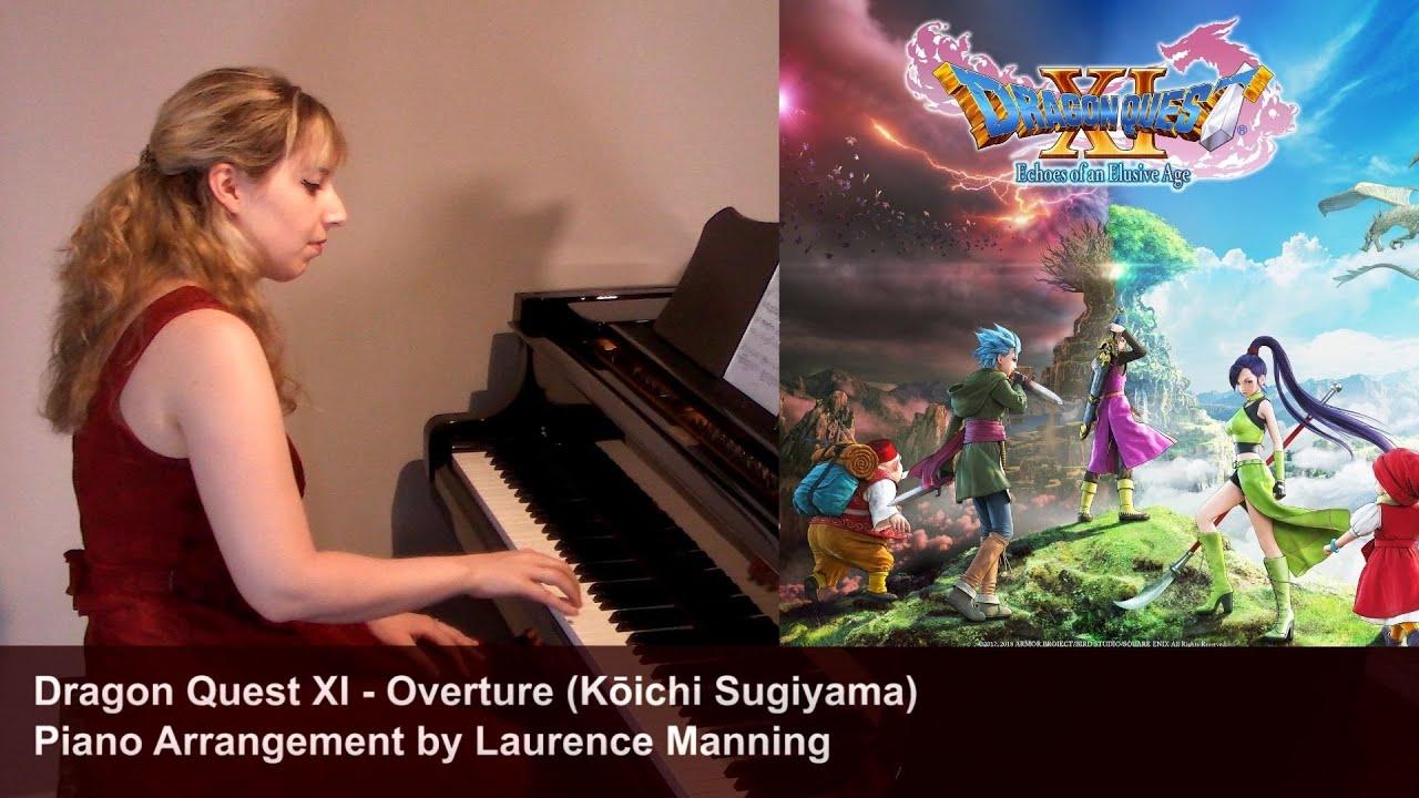 Dragon Quest XI - Overture (Piano cover)