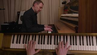 "David Gray - How to play ""This Year's Love"" on Piano"
