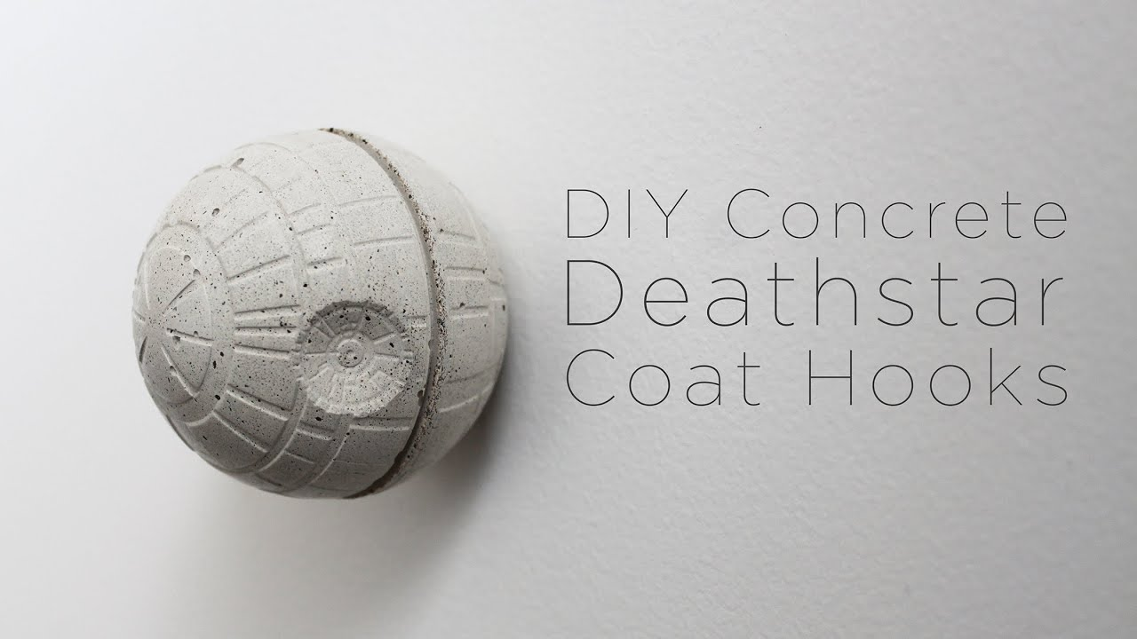 Buy Quikrete Countertop Mix Concrete Death Star Coat Hook Youtube