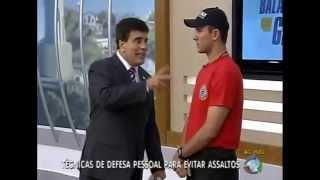 ABRAPAM NO BALANÇO GERAL WAGNER MONTES:Técnicas de defesa pessoal