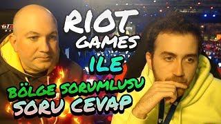 Riot Games Bölge Sorumlusuyla Soru Cevap
