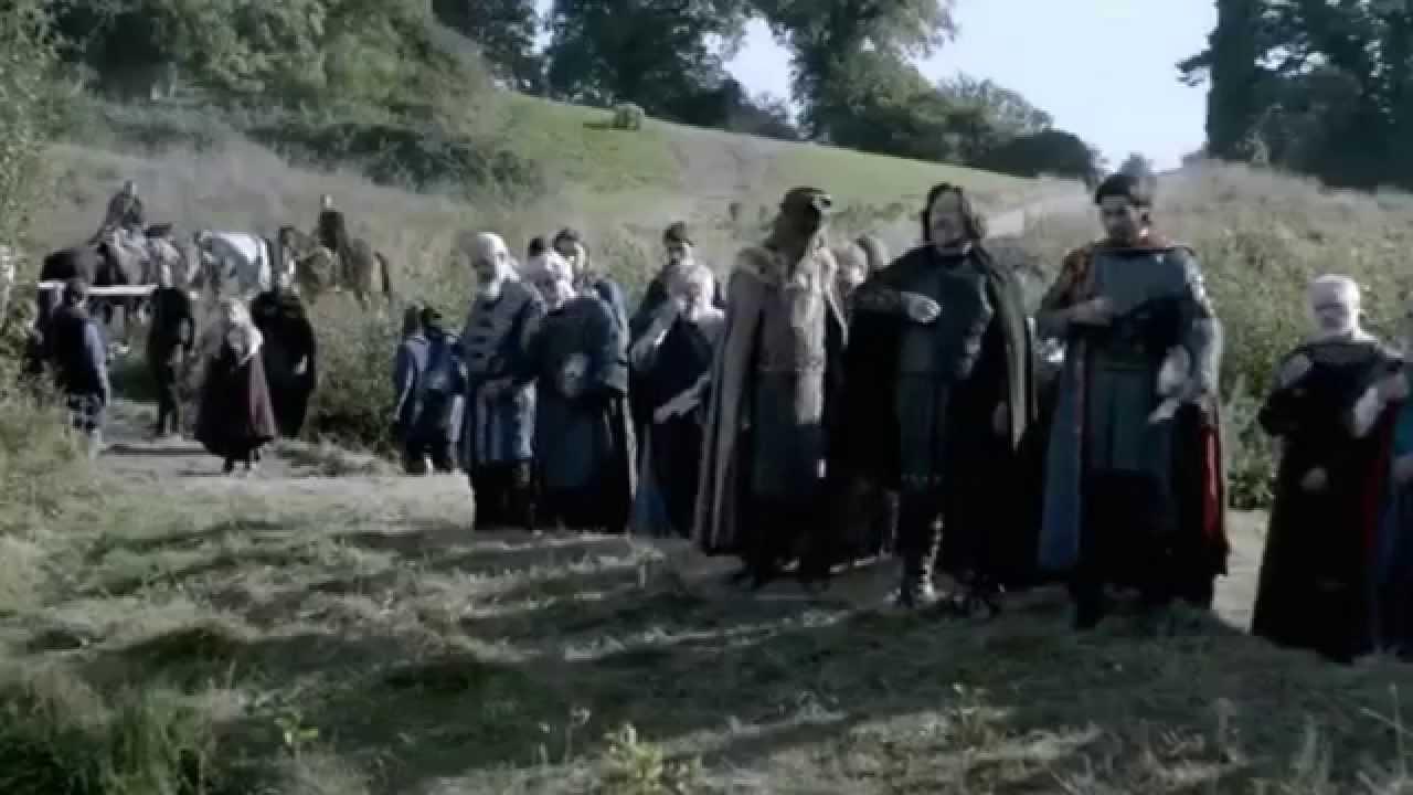 Викинги 3 сезон/Крещение Рагнара - YouTube