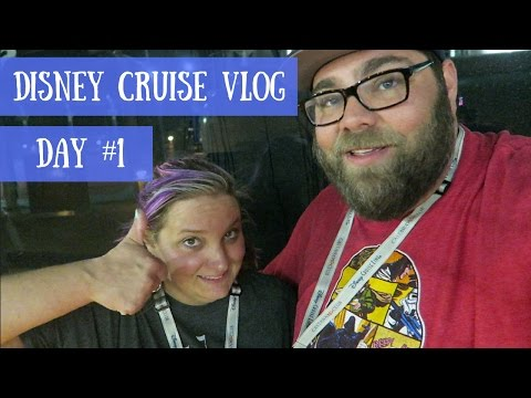 Disney Cruise Vlog :: Day #1