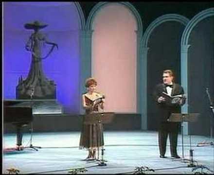 József Gregor Júlia Vajda Cat duet Macskaduett Rossini