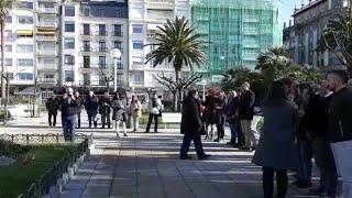 San Sebastián homenajea a las víctimas del terrorismo y la violencia