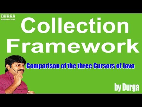 Comparison of  the three Cursors of Java (Collection Framework)