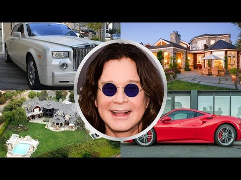 Ozzy Osbourne Net Worth | Lifestyle | Family | House and Cars | Ozzy Osbourne Biography 2018