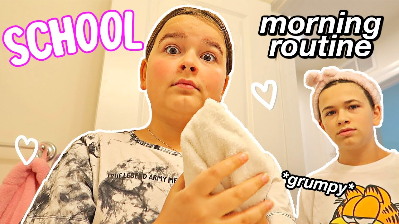 Download MORNING SCHOOL ROUTINE 2021!!   CILLA AND MADDY