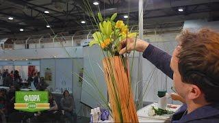Флористика   Букеты с чесноком, орхидеями, древесиной и лилиями!
