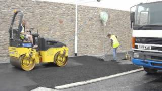 Asphalt & Macadam Laying, Paving & Driveways - PCS Southwest Limited