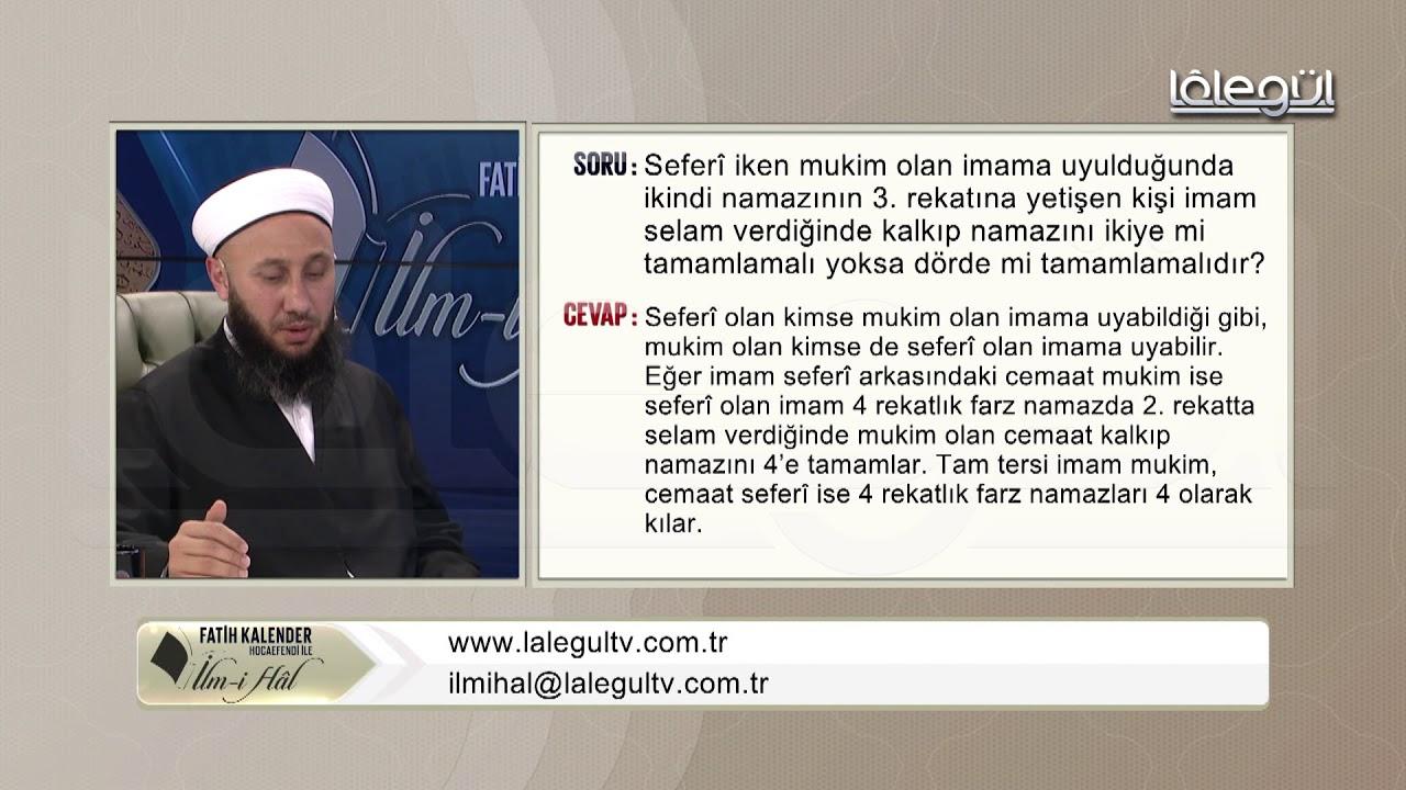 52-Seferî iken mukîm olan İmâm'a uyulduğunda ikindi namâzının 3.rek'atına yetişen kişi ne