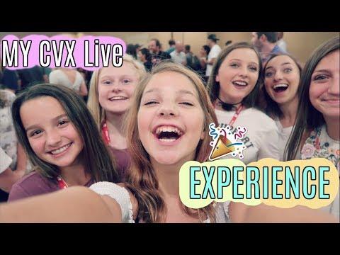 Annie, Hope & Mia's CVX Live Experience   Meet n Greets, Panels, Meeting YouTubers