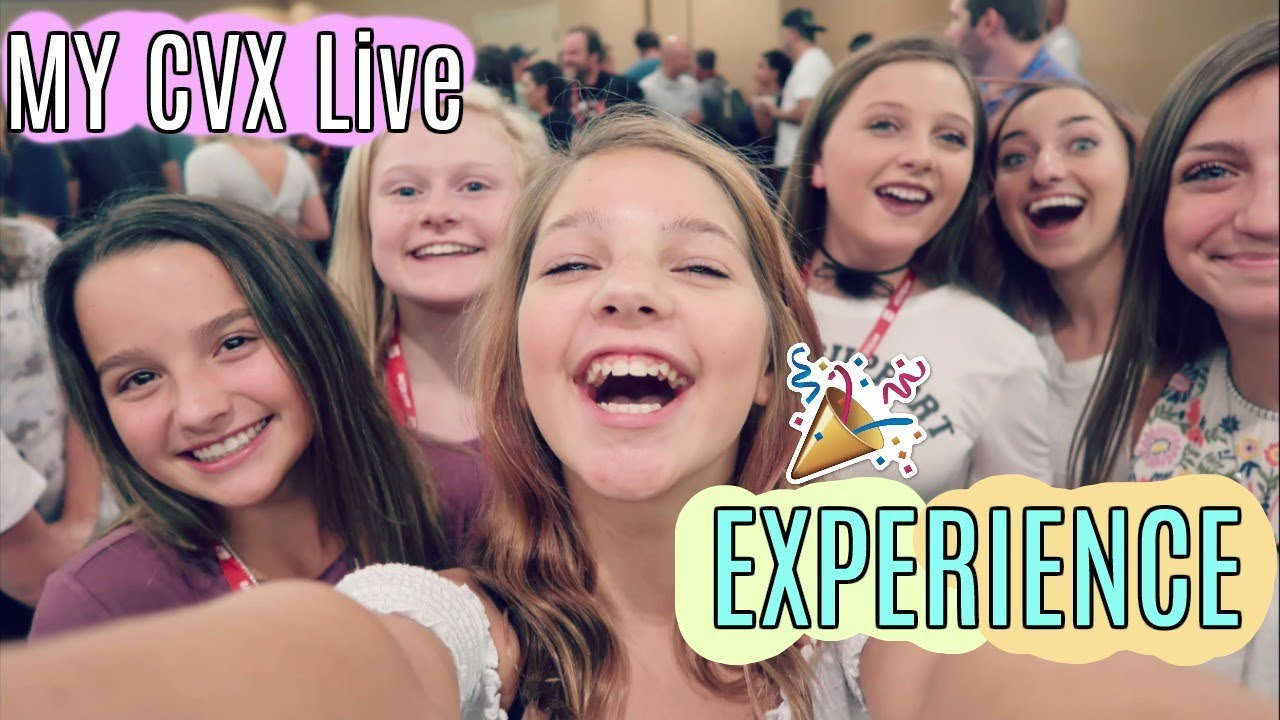 Annie Hope Mias Cvx Live Experience Meet N Greets Panels