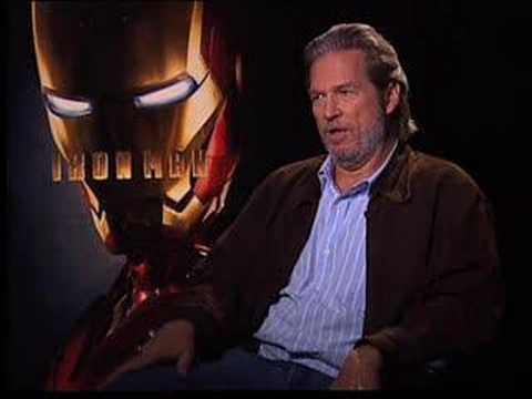 Jeff Bridges Iron man Interview