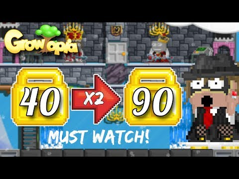 40 TO 90 WLS?!?! [ HOW TO GET RICH ]   Growtopia (MASS #59)