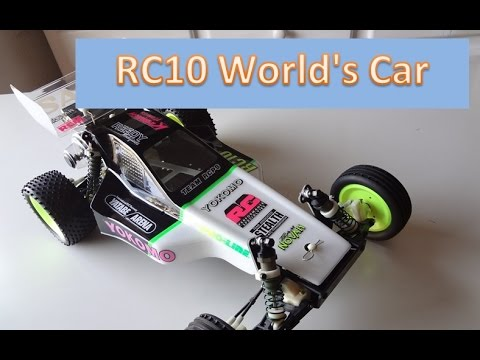 Vintage Associated RC10 1994 World`s car