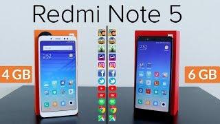 Speed Test Xiaomi Redmi Note 5 Versi RAM 6GB vs RAM 4GB