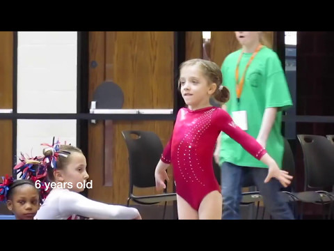 Sydney Morris - Gymnastics Through The Years