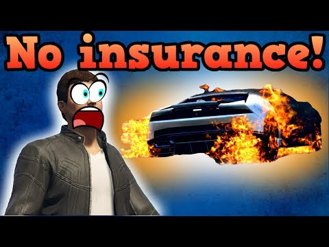 If there was no insurance in GTA Online