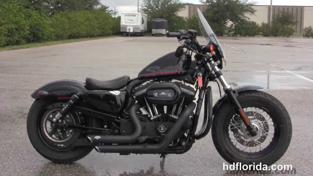2010 harley davidson xl1200x sportster forty eight used motorcycles for sale youtube. Black Bedroom Furniture Sets. Home Design Ideas