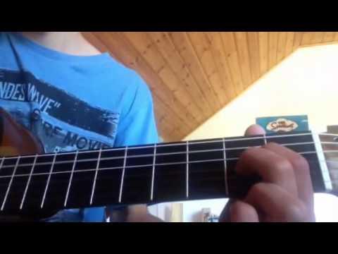 Anadel - In the water guitar tutorial