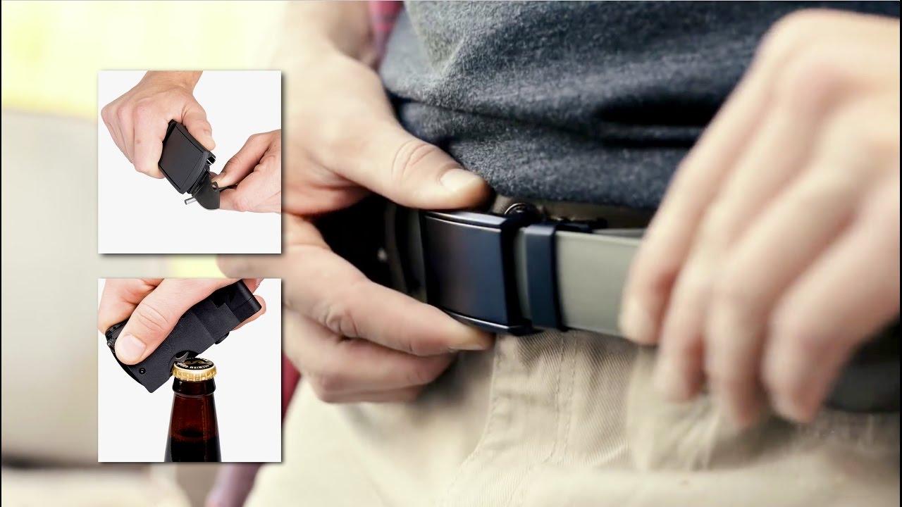 Tinhte.vn | Trên tay thắt lưng sinh tồn Slidebelt: Có dao, đèn pin, đánh lửa