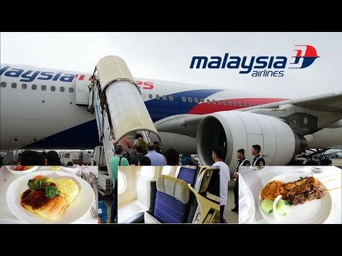 Malaysia Airlines A330 Business Class Shanghai to KL