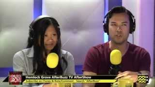 "Hemlock Grove After Show Season 1 Episodes 1 & 2 ""Jellyfish in the Sky; The Angel "" 