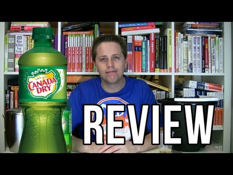 Canada Dry Ginger Ale Review (Soda Tasting #149)