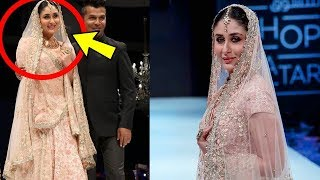 Omg ! Begum Kareena Kapoor Khan got emotional after Ramp walk in Doha| Awww 😢
