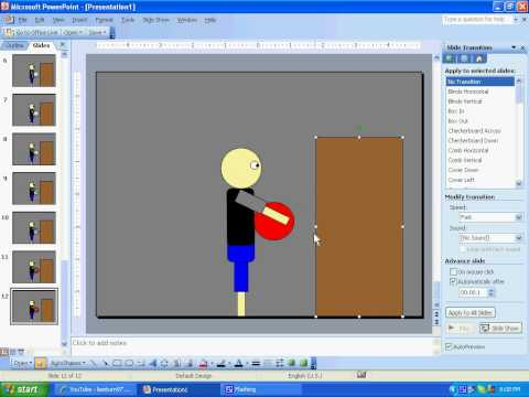 How to make a powerpoint animation : tutorial
