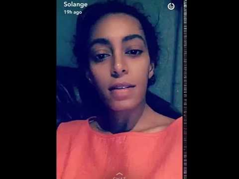 Solange Laughing At Her Mom's Instagram