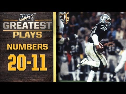 100 Greatest Plays: Numbers 20-11 | NFL 100