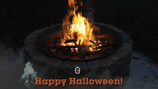 Goldens' Cast Iron Fire Pit Stories - Halloween!