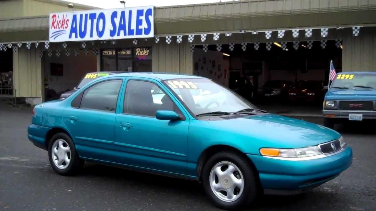 Green Auto Sales >> 1996 MERCURY MYSTIQUE SOLD!!! - YouTube