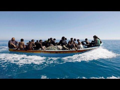Libya: 128 rescued migrants off the coasts [no comment]