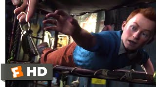 The Adventures of Tintin (2011) - Get the Key! Scene (2/10) | Movieclips