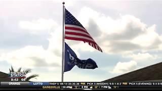 Trump flag causing controversy in Florida neighborhood