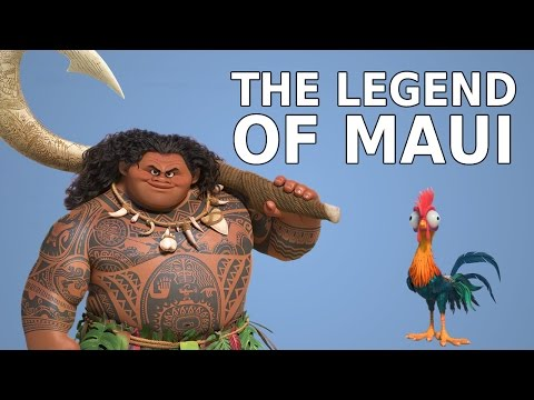 The Legend of Maui