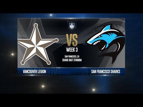 W18 Season, Week 3 - Vancouver @ San Francisco